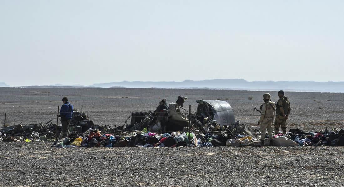 محققون أوروبيون بعد الاطلاع على تسجيلات الصندوقين الأسودين: انفجار أسقط الطائرة الروسية في سيناء