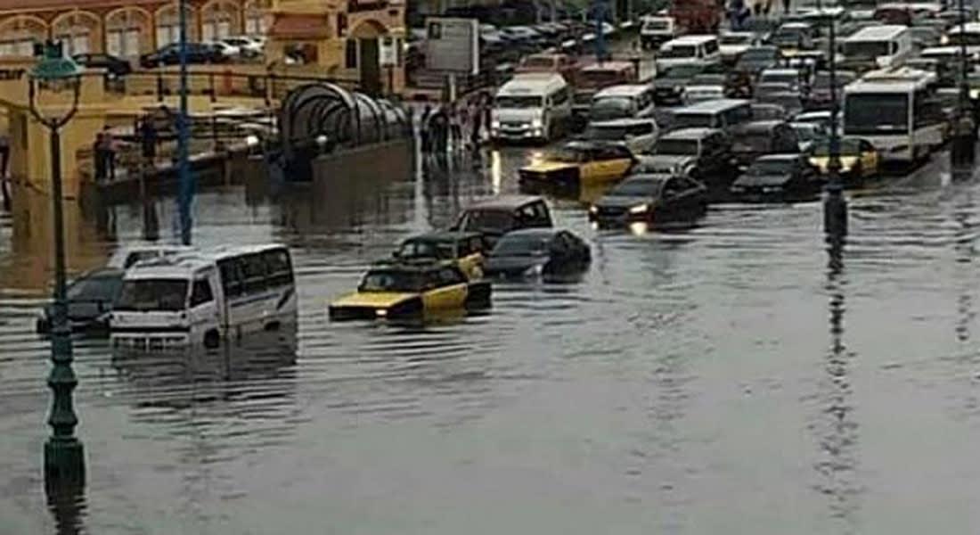 """مصر.. ضبط """"خلية إرهابية"""" لسد """"بلاعات"""" الإسكندرية بالإسمنت لإغراقها بمياه الأمطار"""