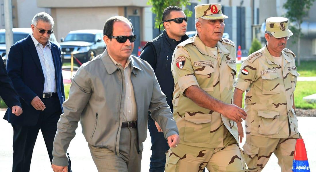"""السيسي يستعين بالجيش في """"التموين"""" و""""الصرف"""""""
