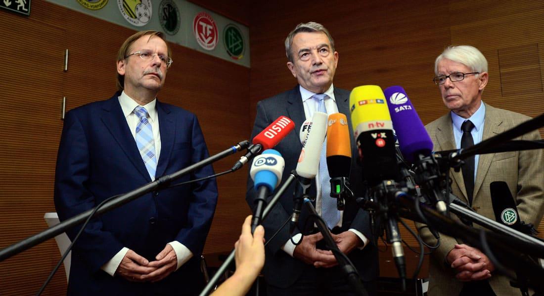 """فضائح الفيفا.. استقالة رئيس الاتحاد الألماني بعد تفجر فضيحة """"كأس العالم 2006"""""""