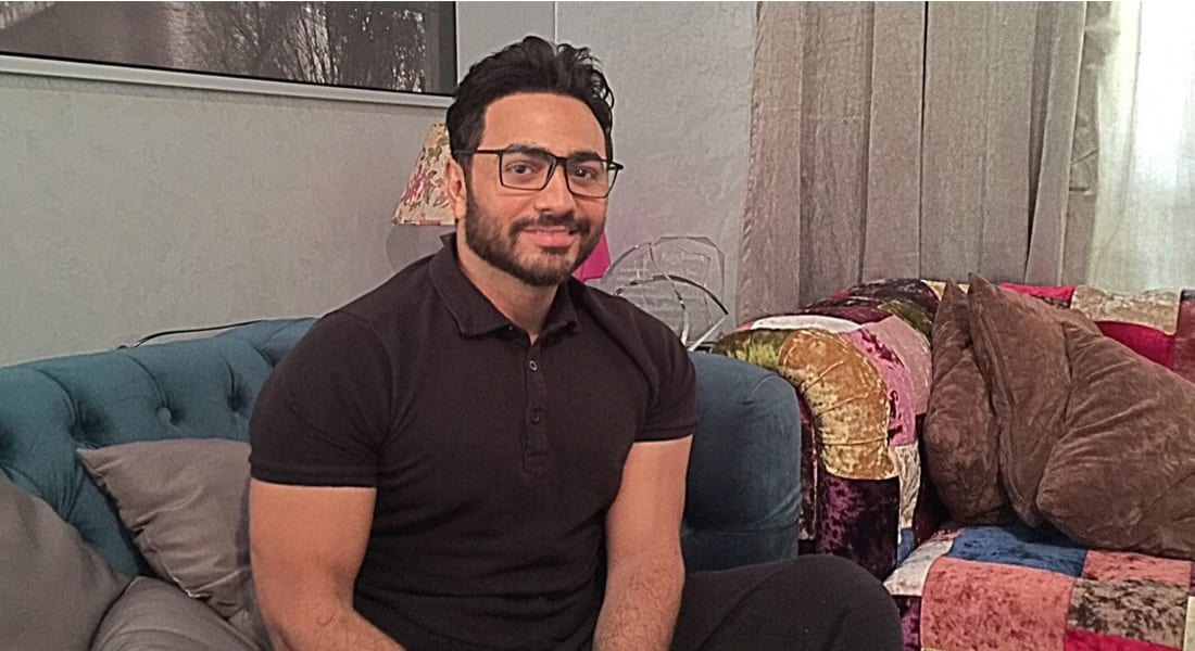 """تامر حسني لـ CNN: مصر ليست راقصة وبلطجي وتاجر مخدرات.. و""""أهواك"""" فيلم كلاسيكي"""