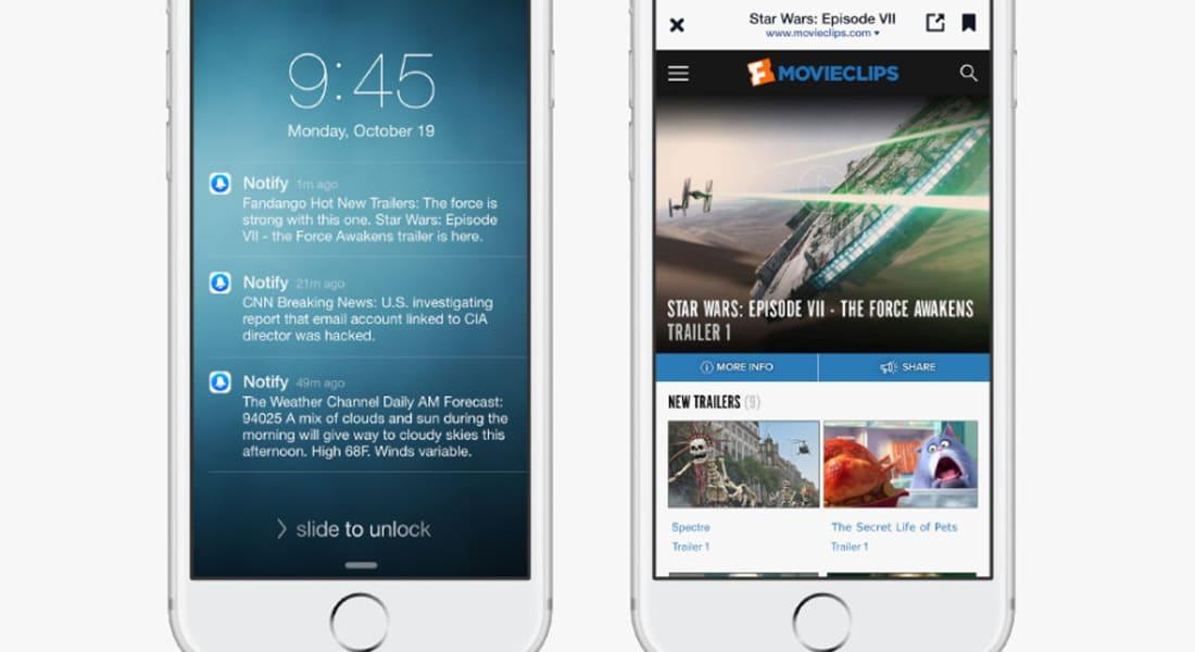 """فيسبوك تطلق تطبيق """"Notify"""" الجديد لمتابعة الأخبار"""