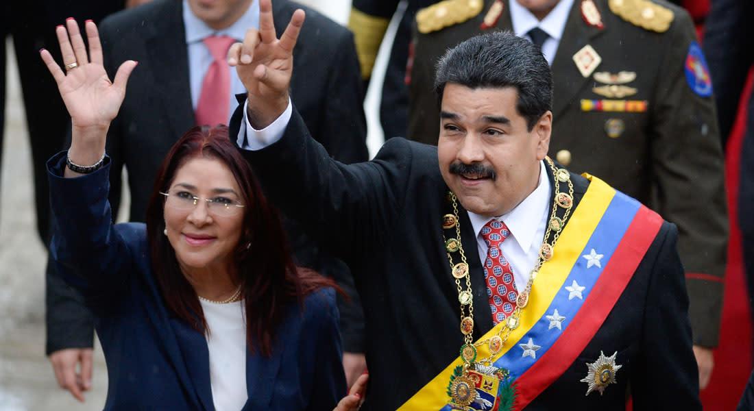 السلطات الأمريكية تعتقل اثنين من عائلة الرئيس الفنزويلي تورطا بتهريب مخدرات