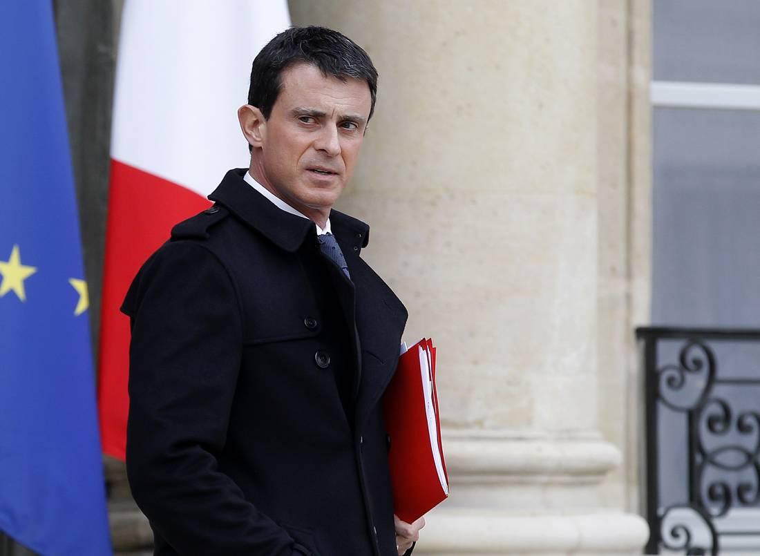"""رئيس الحكومة الفرنسية: نحن في حرب.. وسنواصل عملياتنا في سوريا حتى إبادة """"داعش"""""""