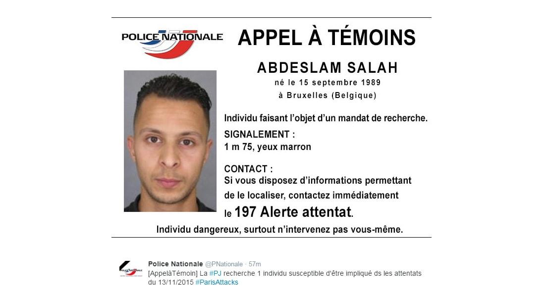 الشرطة الفرنسية تأمر باعتقال مشتبه بهجمات باريس وكشف هوية آخر يُعتقد أنه شارك بالقتال في سوريا