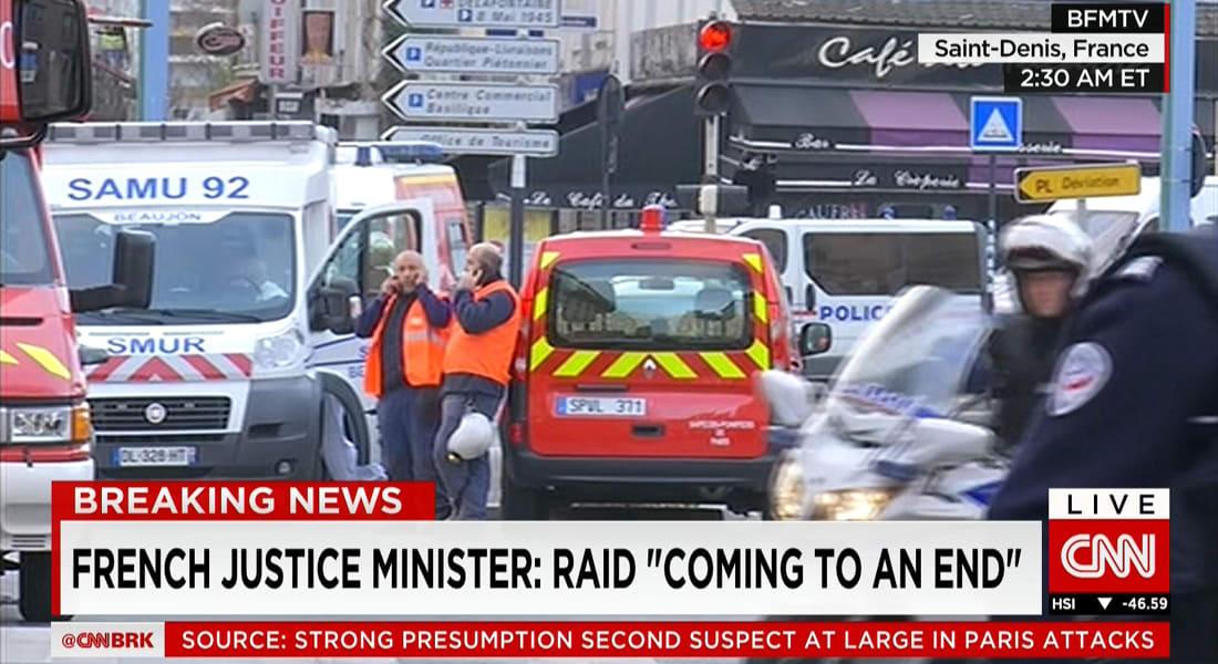 فرنسا: احتجاز 5 أشخاص بينهم سيدة خلال عملية الشرطة شمال باريس