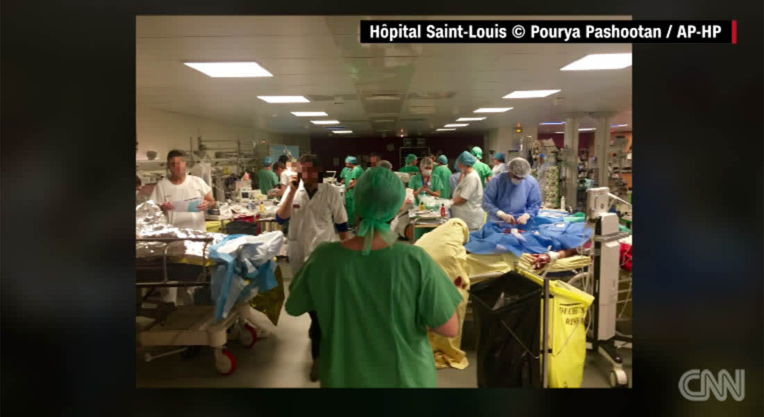 """هجمات باريس.. """"صورة بألف كلمة"""" التقطها طبيب بمستشفى ولاقت رواجا واسعا"""