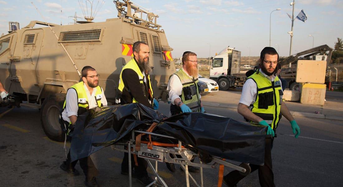 """مقتل إسرائيلية و3 فلسطينيين في """"هجمات طعن"""" بالضفة ونتنياهو يأمر بإجراءات استثنائية في الخليل"""