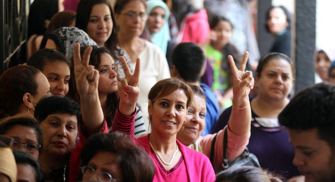 """انتخابات مصر.. إغلاق مراكز التصويت بنهاية الجولة الأولى من المرحلة الثانية وسط إقبال """"متوسط"""""""