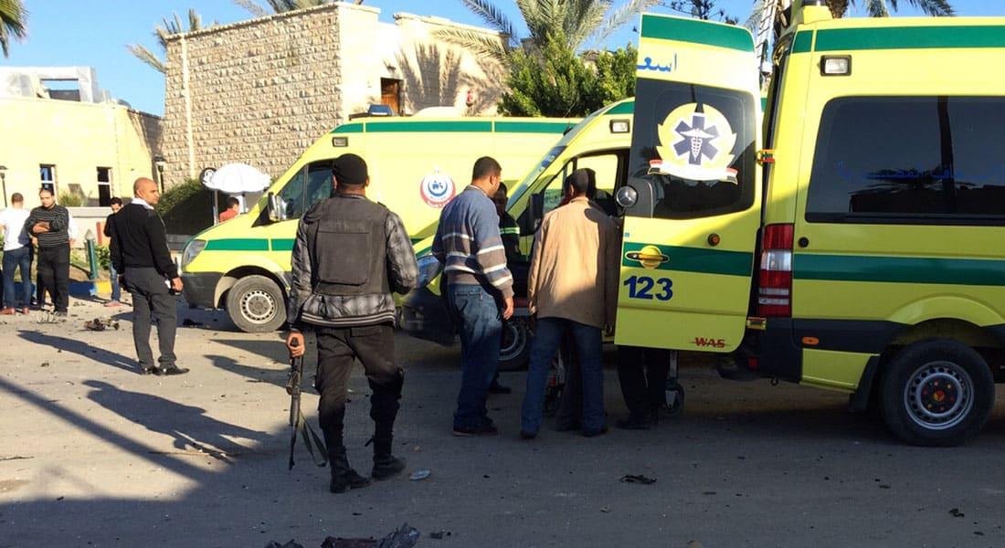 """مصر.. 5 قتلى بينهم مستشارين بـ""""هجوم انتحاري"""" على فندق للقضاة بالعريش تبناه """"داعش"""""""