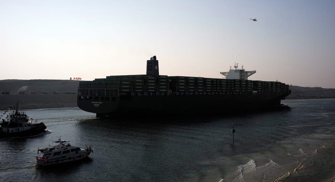"""مصر.. 1.4 مليار دولار إيرادات قناة السويس منذ 6 أغسطس و""""قناة جانبية"""" لمضاعفة السفن بميناء بورسعيد"""