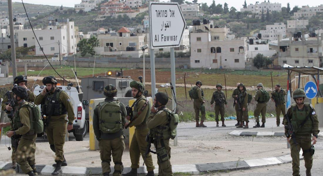 """مقتل فلسطيني وإصابة جندي إسرائيلي في """"هجوم طعن"""" بالخليل وتأهب لموجة عنف """"طويلة الأمد"""""""