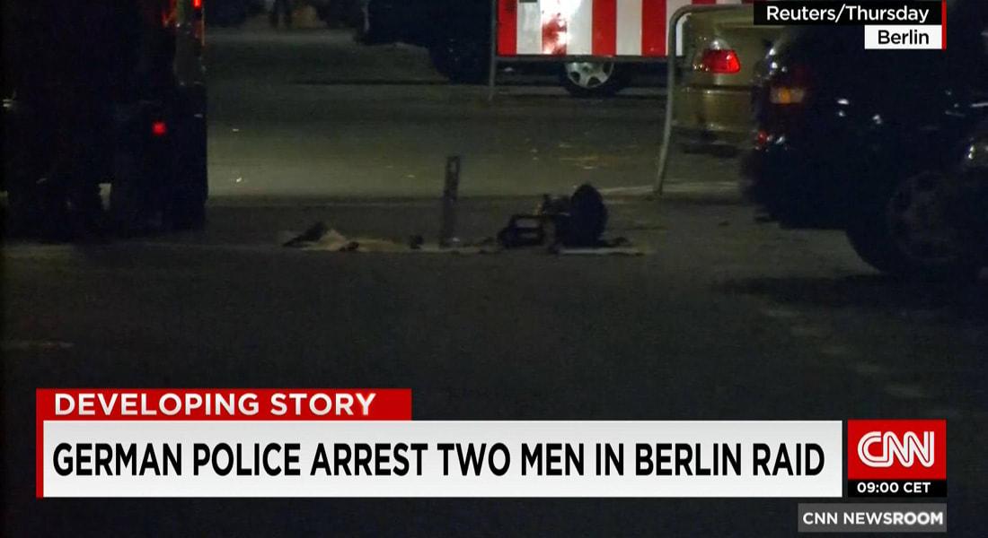 """ألمانيا: اعتقال شخصين بخطة لتنفيذ هجمات إرهابية """"كبيرة"""".. وتقارير: الشخصان هما تونسي وسوري"""