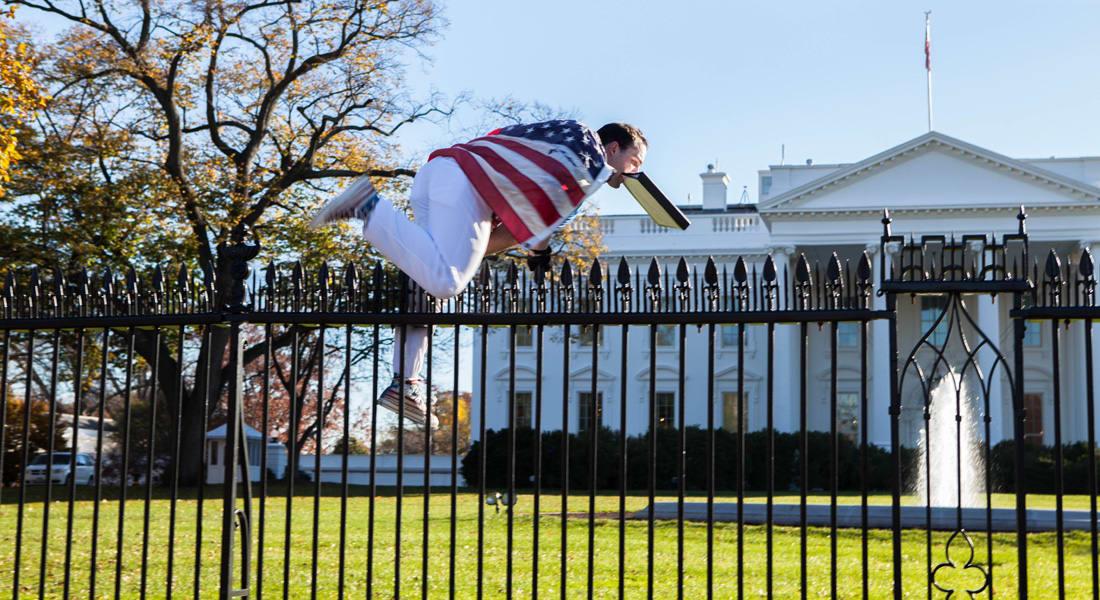 الحرس الرئاسي الأمريكي: اعتقال رجل قفز من فوق سور البيت الأبيض