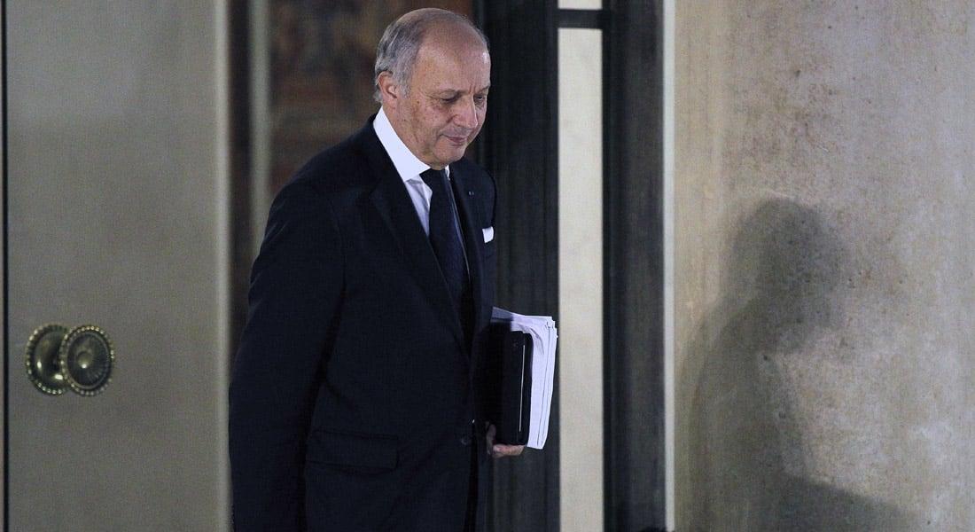 وزير الخارجية الفرنسي: يجب تشكيل تحالف من قوات النظام السوري والجيش الحر والسنة والأكراد لمحاربة داعش بريا