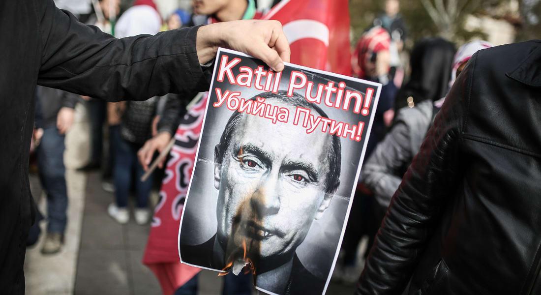 """أردوغان يعرب عن """"حزنه"""" لحادث إسقاط المقاتلة الروسية.. ولكن دون """"اعتذار"""""""