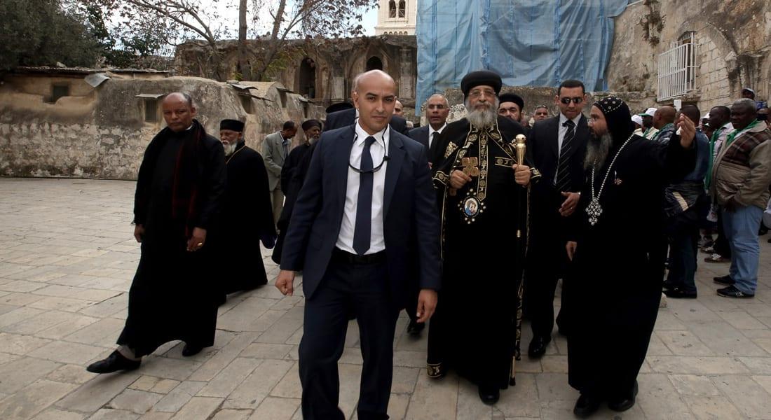الكنيسة القبطية: البابا تواضروس دخل القدس بالتنسيق مع السلطة الفلسطينية وبدون تأشيرة إسرائيلية