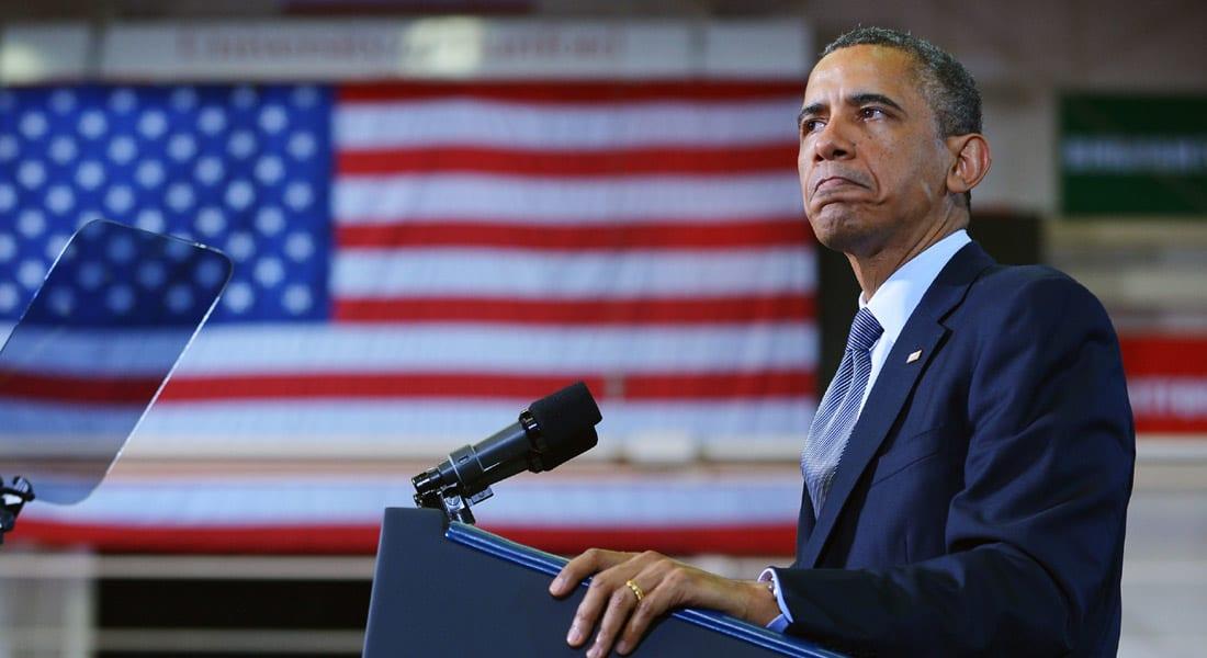 أوباما بعد هجوم كاليفورنيا: من الجنون السماح لأشخاص ممنوعين من ركوب الطائرات بحيازة أسلحة نارية