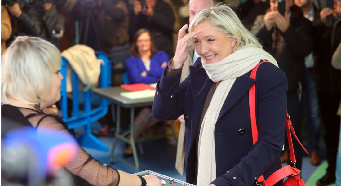 اليمين المتشدد يتصدر الانتخابات المحلية في فرنسا بعد هجمات باريس.. ولوبان: أصبحنا الحزب الأول