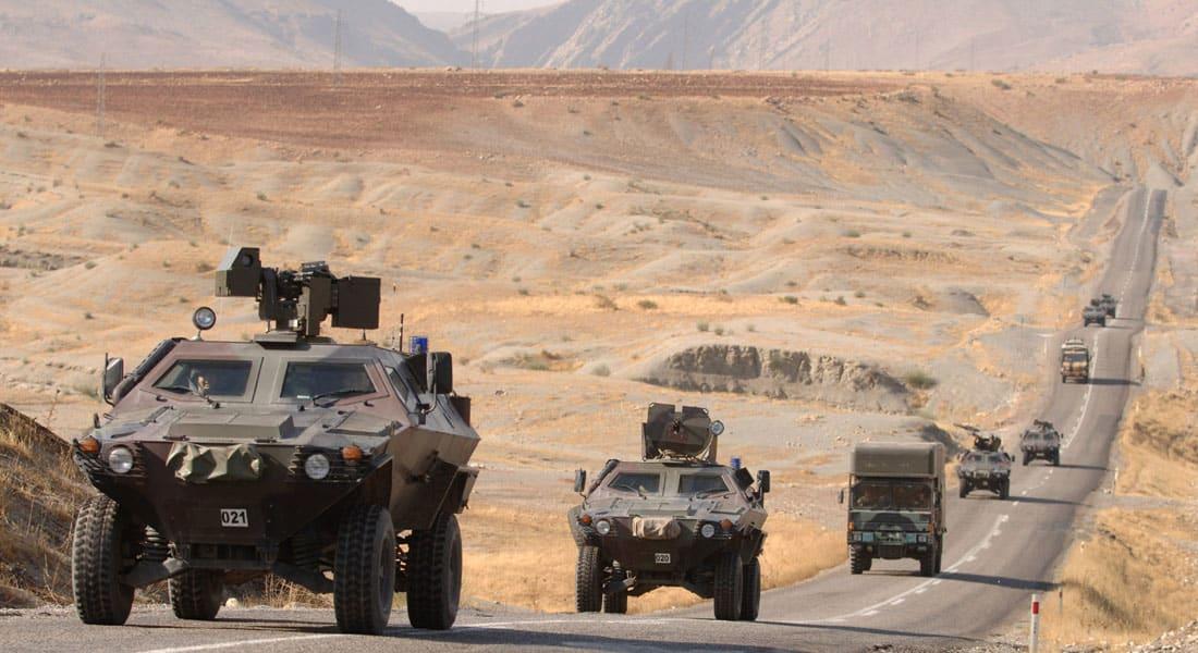 """وسط توتر متزايد بين أنقرة وبغداد.. مقاتلات """"إف 16"""" تركية تقصف مواقع كردية في شمال العراق"""
