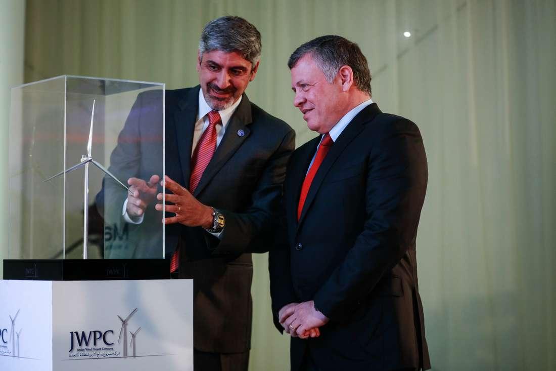 الأردن يدشن مشروعًا لتوليد الكهرباء بطاقة الرياح يوّفر 50 مليون دولار سنويًا
