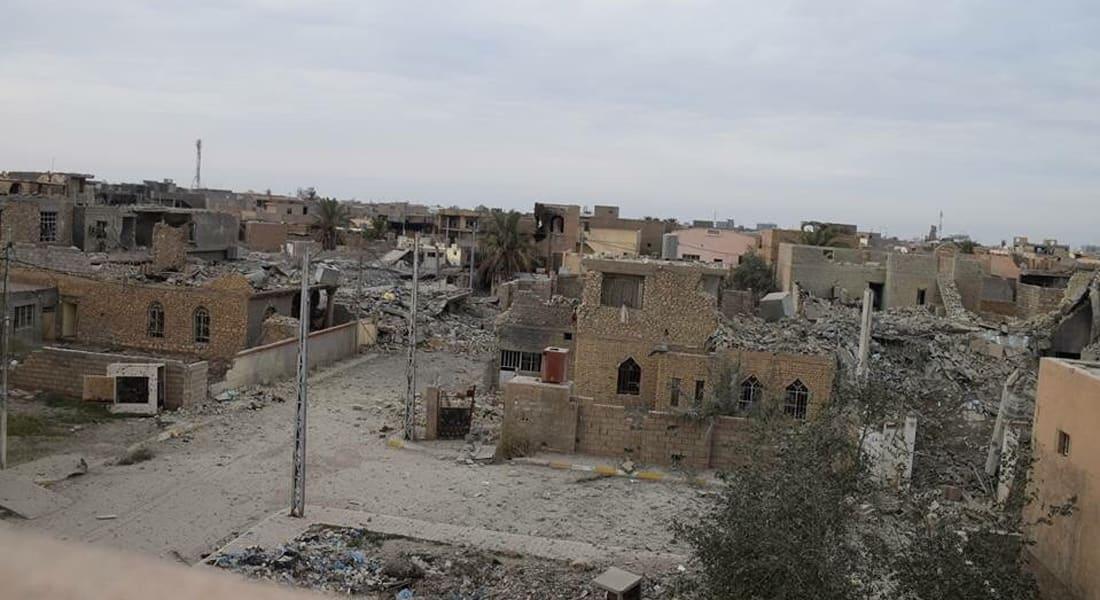 الصورة الأولى.. الجيش العراقي يسيطر على حي الضباط في الرمادي