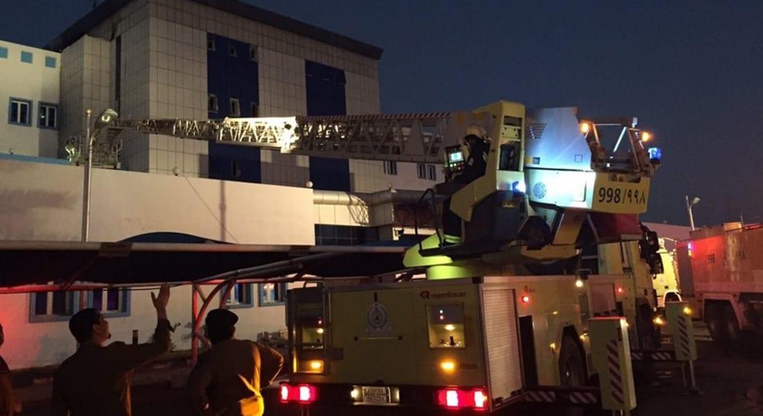 بالفيديو.. حملة على تويتر في السعودية ضد إغلاق أبواب الطوارئ بعد حريق مستشفى جازان