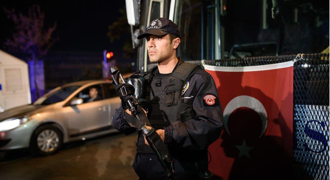 """السلطات التركية: اعتقال شخصين ينتميان لـ""""داعش"""" قبل تنفيذهما تفجيرات في أنقرة في ليلة رأس السنة"""