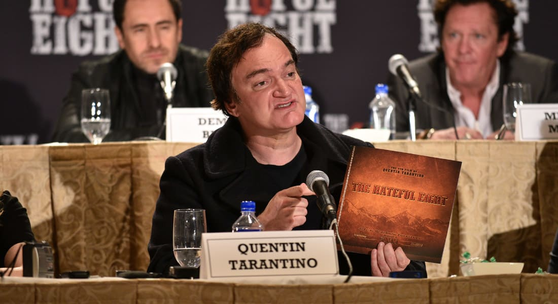"""قراصنة يعتذرون للمخرج تارانتينو بعد تسريب """"The Hateful Eight"""" قبل عرضه.. ويؤكدون: يستحق الأوسكار"""