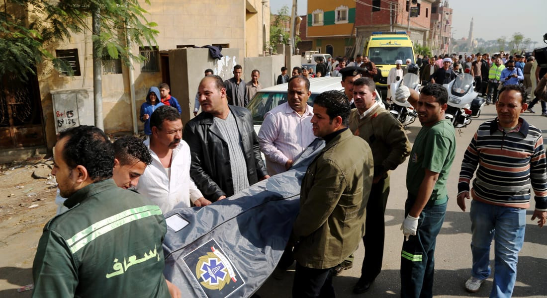 """مقتل عقيد ومجند في هجوم بالجيزة.. وزير داخلية مصر: نخوض مواجهة """"قوى الشر"""" بعزم لا يلين"""