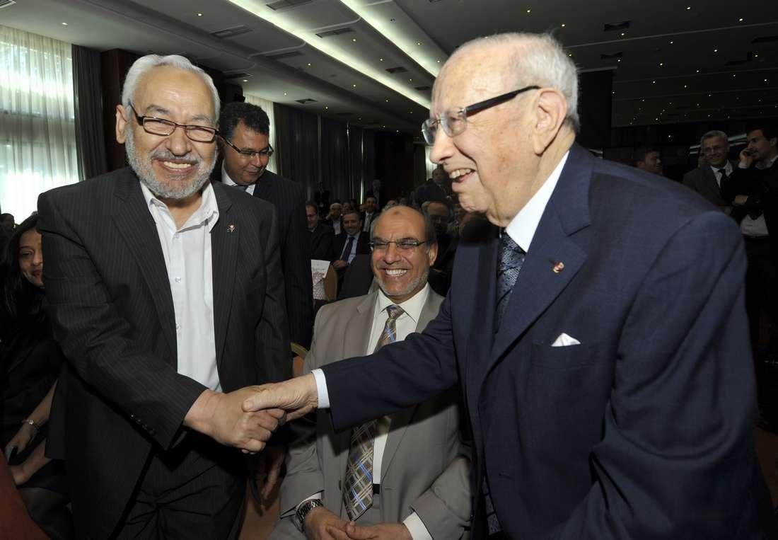 """حركة النهضة تستفيد من انشقاق """"حزب السبسي"""" وتتصدّر البرلمان التونسي"""
