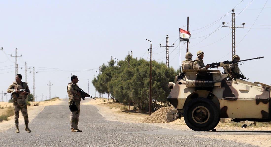 """الجيش المصري يعلن مقتل 30 """"إرهابيا"""" و4 من عناصره في هجوم على أحد الكمائن في سيناء"""