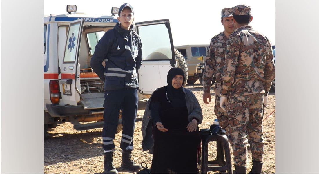 اللاجئون على الحدود الأردنية السورية: فرحة عبور مؤجل تعري مأساة الحرب