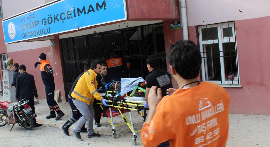 السلطات التركية: سقوط قذيفة هاون من سوريا على مدرسة في كيليس.. ومقتل موظفة وإصابة 3 آخرين