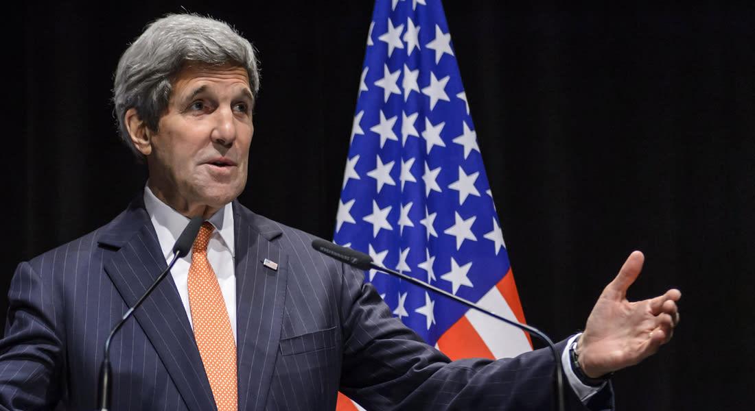 جون كيري لـCNN: السعودية تدرك صعوبة شراء أسلحة نووية والأموال المقدمة لإيران لن تتجاوز 55 مليار دولار