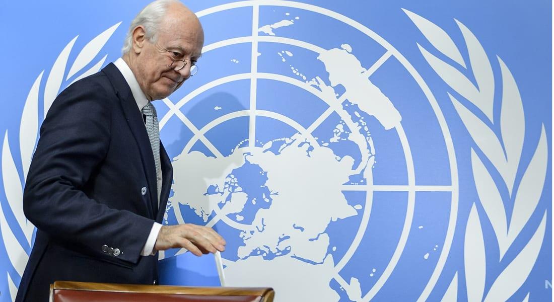 مبعوث الأمم المتحدة في رسالة إلى الشعب السوري: لن نخيب آمالكم