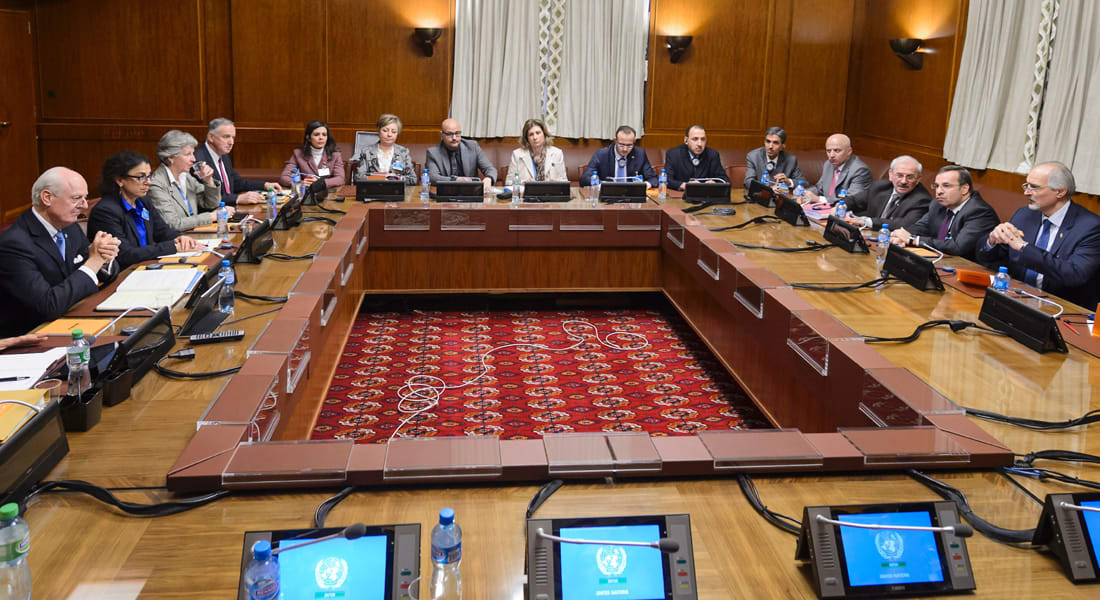 المعارضة السورية تقرر المشاركة في مفاوضات جنيف بعد انطلاق المحادثات بين وفد النظام ودي مستورا