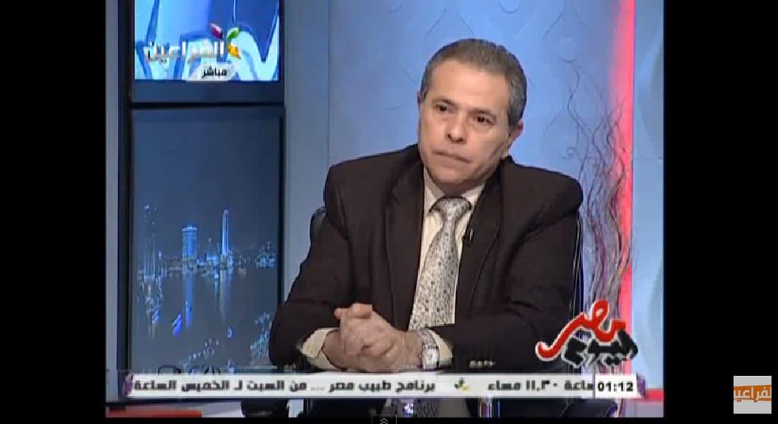 بالفيديو.. توفيق عكاشة ينفعل على الهواء: الشعب المصري بيهري في المهري ونايم في النايم