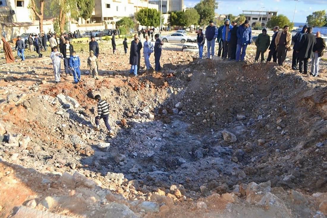 الغموض يلّف هوية طائرة نفذت غارة في ليبيا وأوقعت ضحايا