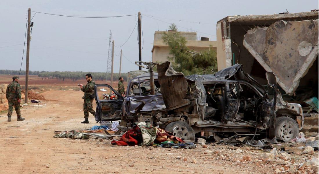 """تركيا تقصف مواقع """"الديمقراطي الكردي"""" وقوات الأسد في سوريا.. وداود أوغلو: سنرد على أي تهديد"""