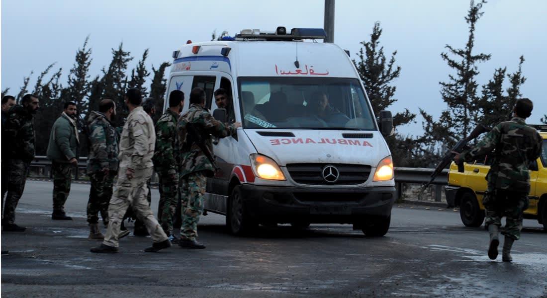 """سوريا: عشرات القتلى والمصابين في سلسلة تفجيرات في حمص والسيدة زينب.. و""""داعش"""" يعلن مسؤوليته"""