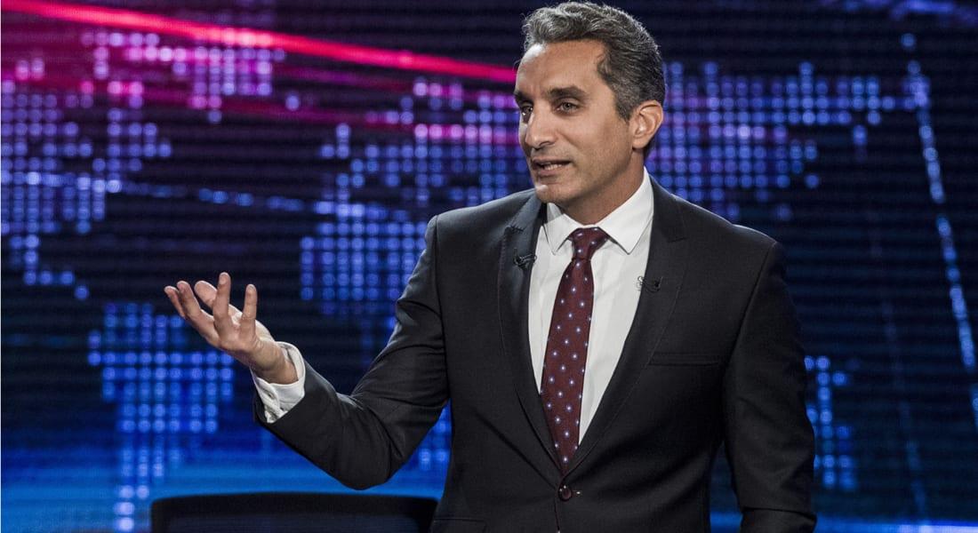 """باسم يوسف بعد خطاب السيسي: """"للبيع بحالة الفبريقة.. رئيس استخدام طبيب"""""""