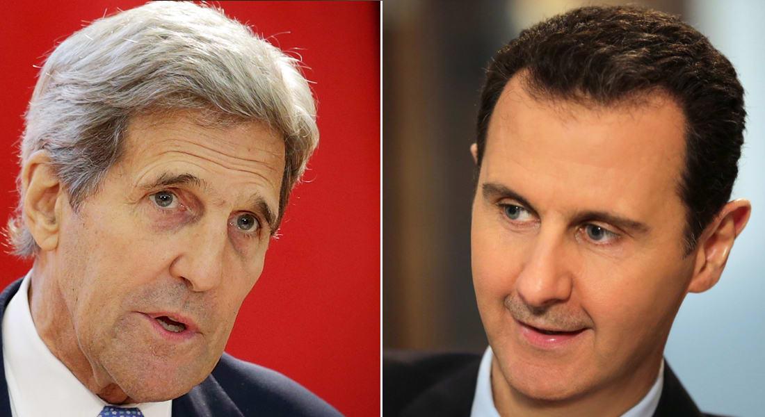 كيري للأسد: أظهِر قدرا من الأخلاق.. وأدعو الروس والإيرانيين للتأثير على عميلهم ليستوعب المخاطر في سوريا