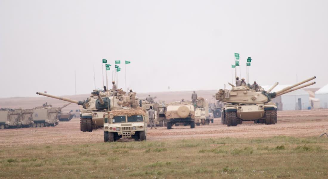 """السعودية: رعد الشمال تشهد ثاني أكبر عملية حشد للقوات المختلطة منذ """"عاصفة الصحراء"""""""