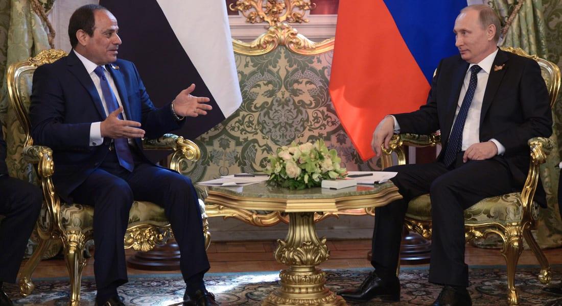 السيسي يؤكد ضرورة المحافظة على وحدة سوريا في مكالمة مع نظيره الروسي بوتين