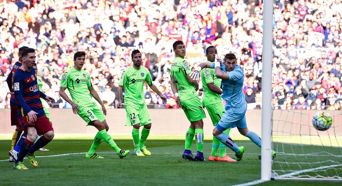 تسونامي برشلونة يضرب خيتافي بسداسية دون رد