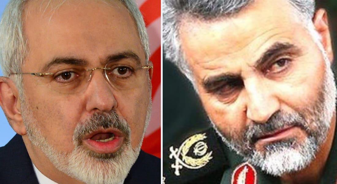 إيران تصعّد ضد الرياض.. ظريف: انقسم ظهر السعودية اقتصاديا.. وسليماني: حزب الله بريء ولم نسع لتشييع السنّة