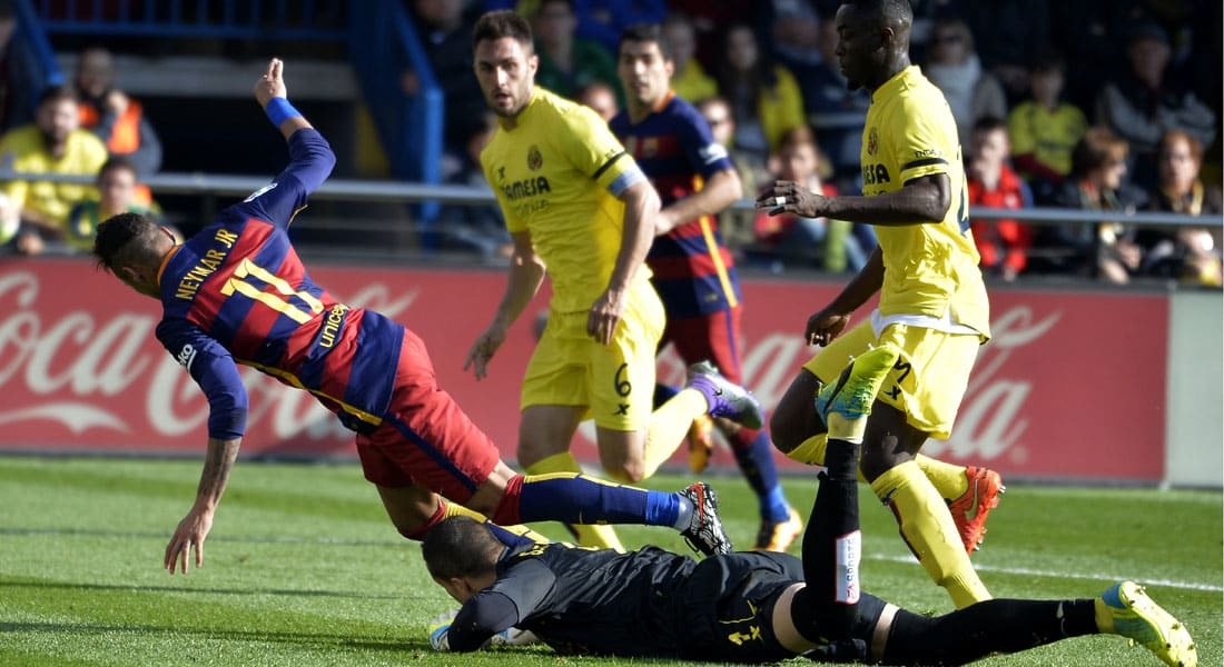 """فياريال """"العنيد"""" يوقف مسلسل انتصارات برشلونة في الدوري"""