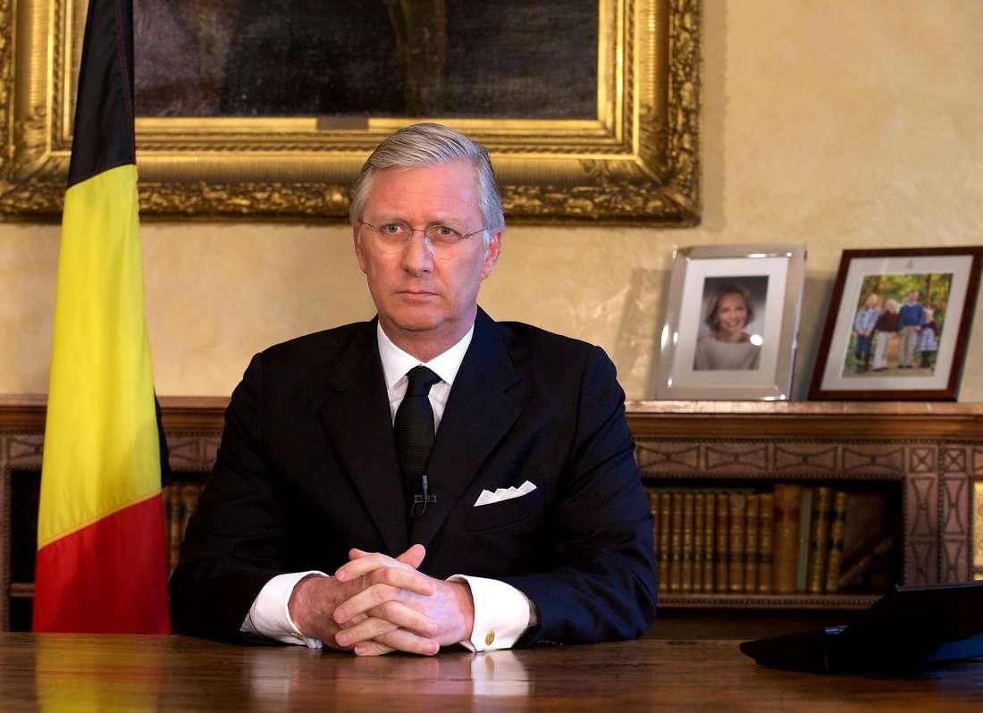 الملك البلجيكي: سنرّد بكل حزم وهدوء على التهديدات الإرهابية.. وثقتها بأنفسها هي سلاحنا