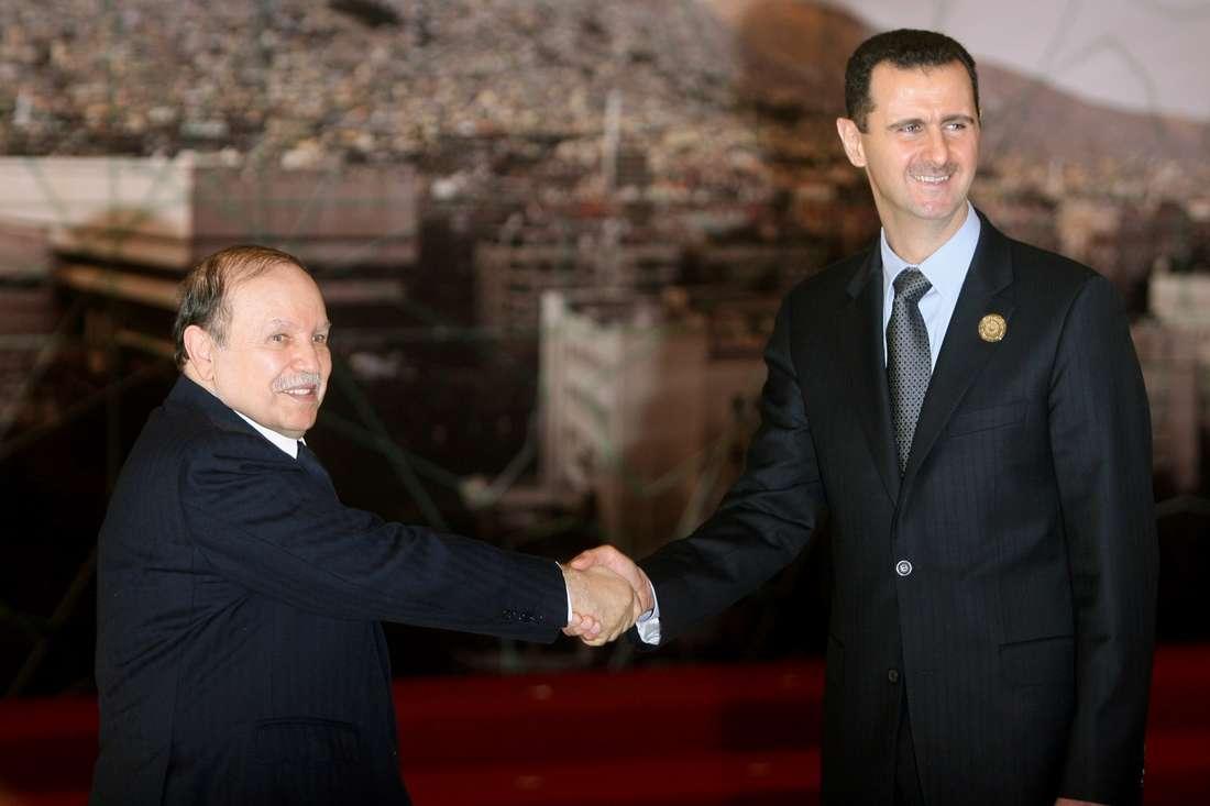 بوتفليقة يتسلّم رسالة من بشار الأسد.. ووليد المعلم يصرّح: الرئيس الجزائري يحب سوريا